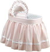 Baby Doll Regal Pique Bassinet Set, Pink
