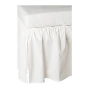 Ikea Len Crib Skirt, White