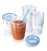 Philips AVENT SCF720/10 VIA Baby Food Storage Set by Philips AVENT