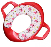 Dofull Baby Kids Child Potty Training Toilet Seat Mat Cute Pattern with Handles