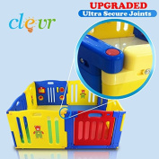 New Improved Baby Kids Safety Playpen 8 Panel Play Centre Home Indoor Outdoor