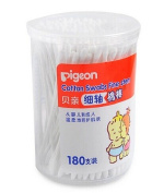 Baby Ear Nose Clean Thin Shaft Cotton Swabs 180pcs
