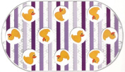 Rubber Duck Printed Bubble Bathtub Mat - 41cm X 70cm