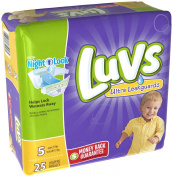 Luvs Ultra Leakguards Size 5 Nappies - 25 CT