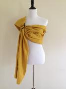 Bibetts Pure Linen 'Sunflower Yellow' Ring Sling Baby Carrier