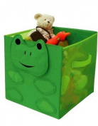 Kid Style Critter Cube, Frog, 30cm x 30cm x 30cm
