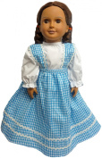 Colonial style dress For 46cm Dolls