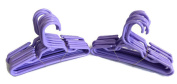 Doll Hangers Set of 24 Plastic Hangers Lavender, Fits 46cm American Girl Dolls Clothes, Doll Accessories