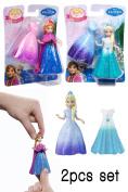 Disney Frozen Magiclip Anna and Elsa 2pcs Doll