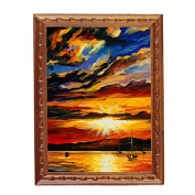 Generic Fine 1/12 Scale Miniature Picture Amazing Sunset Great Quality & decoration Items