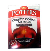 Potters Chesty Cough 20 Pastilles Non-drowsy
