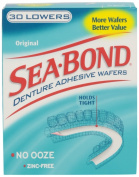 Sea Bond Denture Adhesive for Lowers- 15 Each