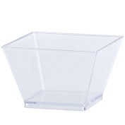 Lillian Tablesettings 40 Count Condiment Bowl, 240ml, Clear