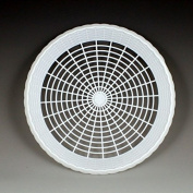 Plastic 23cm Paper Plate Holders in White Maryland Plastics, 8 plate holders per unit