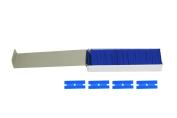 ABN 100 Piece Plastic Razor Scraper Blades