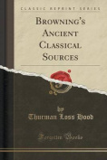 Browning's Ancient Classical Sources