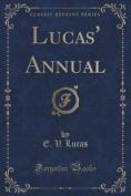 Lucas' Annual