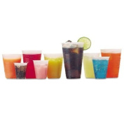 Fabri-kal Rk Ribbed Cold Drink Cups, 350ml, Clear FABRK12