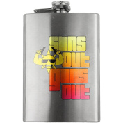 Classic Sun's Out Guns Out 240ml Flask