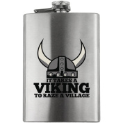 It Takes a Viking Funny 240ml Flask