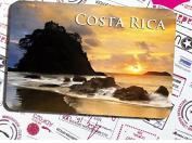 Costa rica special tourism souvenir Magnetic fridge magnet in costa rica