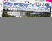 Brazil features creative tourism souvenirs Magnetic refrigerator Brazil iguazu waterfalls