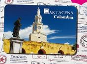 Columbia special tourism souvenir Magnetic refrigerator cartagena clock tower