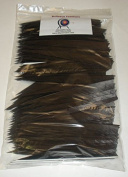 Bullseye Feathers 13cm RWSC Pkg/100 Chocolate