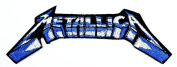 Metallica Rock Music Band Patch Embroidered Iron on Hat Jacket Hoodie Backpack Ideal for Gift/ 12.5cm(w) X 4.3cm
