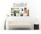 Quote It! - In These Moments Time Stood Still Vinyl Wall Quotes Family Lettering, Stickers, Art, Love Quotes