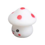 ACE Mushroom Shaped LED Novelty Lamp Night Light Colourful Changing Colours E