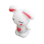 ACE LED Novelty Lamp Changing Colours Night Romantic Rabbit Light Cute Lamp Party