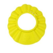 KAKA(TM) Safe Shampoo Shower Bathing Protect Soft Cap Hat for Baby Children Kids -Yellow
