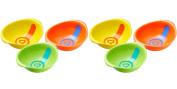 Munchkin White Hot Toddler Bowls, 6 Count