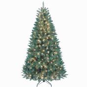 Kurt Adler 2.1m Pine Christmas Tree