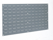 Akro-Mils 30136 Louvred Steel Panel for Mounting AkroBins, 90cm W by 48cm H, Grey