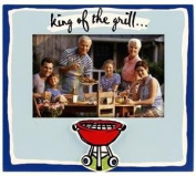 "Malden ""King of the Grill"" 4x6 Photo Frame"