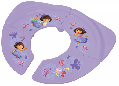 Dora Nickelodeon Folding Potty Seat, Purple, 18 Plus Months (Discontinued by Manufacturer)