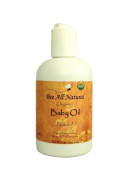 Bee All Natural Organic Baby Oil, 120ml Bottle