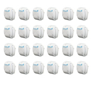 Safety 1st Deluxe Press Fit Outlet Plugs, 24 Pack