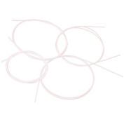 TOOGOO(R) 4pcs White Nylon Ukulele String Set