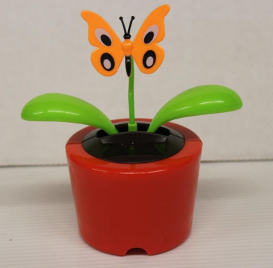 Solar Dancing Bug's (Red Pot Butterfly)