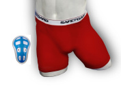 SafeTGard Mens Sliding Short with Cage Cup