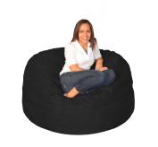 Sofa Sack - Bean Bags Bean Bag Chair, 1.5m, Black