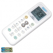 HQRP Remote Control for YORK GZ-12A-E1 GZ12AE1 Air Conditioner Controller + HQRP Coaster
