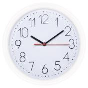 HITO™ 25cm Silent Non-ticking Wall Clock