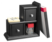 Victor Midnight Collection Reversible Book End, Black