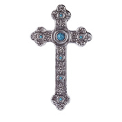 Gifts & Decor Spanish Style Hanging Christian Gift Wall Cross Plaque