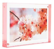 Colour Edge Magnet Frame by Canetti-Pastel Rose 10cm x 15cm