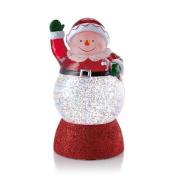 Hallmark Christmas LPR1656 Snow Ho Ho! Snowman Snowglobe